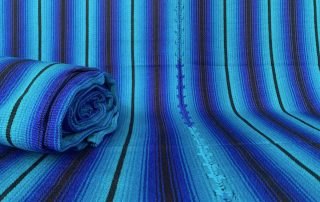 Decke Blaugruen
