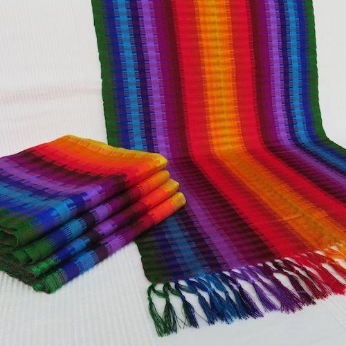 Baumwoll-Chalinas aus Guatemala