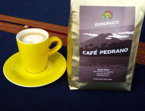 Gukumatz Café Pedrano – das ist unser Kaffee!!!