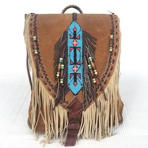 Indianer-Rucksäcke