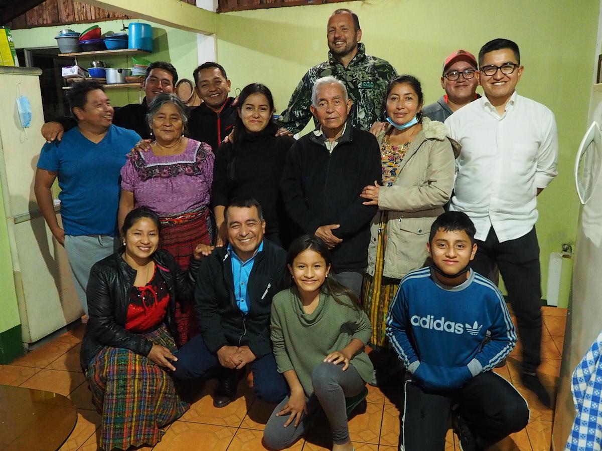 Wiedersehen mit meiner Familie